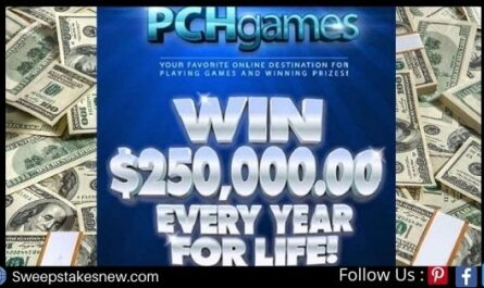 PCH $250000 A Year For Life Superprize Giveaway