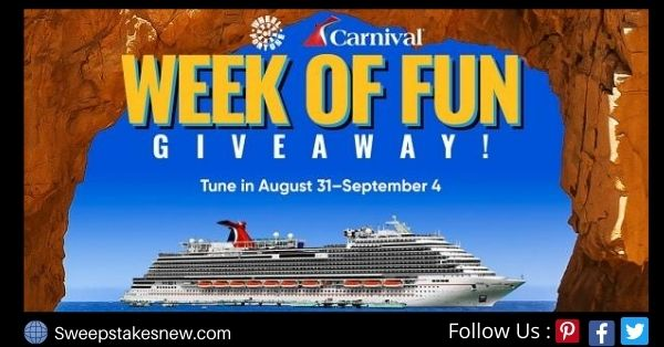 Wheel Of Fortune Carnival Giveaway