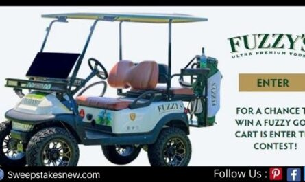 Fuzzy's Golf Cart Sweepstakes