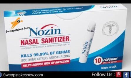 WPHL-TV Nozin Nasal Sanitizer Contest