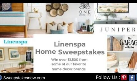Linenspa Home Sweepstakes