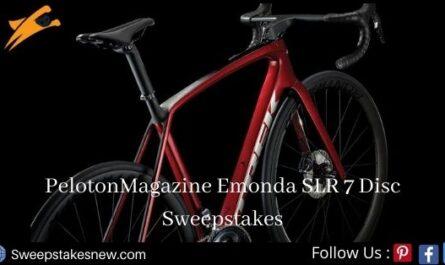 PelotonMagazine Emonda SLR 7 Disc Sweepstakes