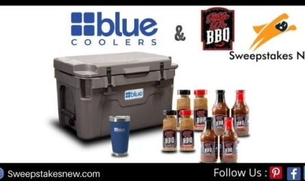 Blue Coolers I Quit Giveaway