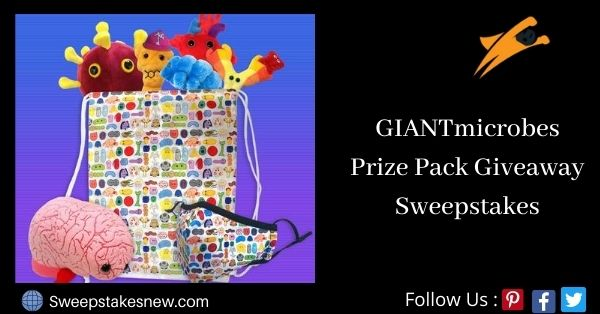 GIANTmicrobes Prize Pack Giveaway Sweepstakes (Giantmicrobes.com)