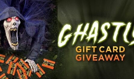 Spirit Halloween Ghastly Gift Card Giveaway