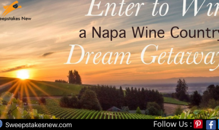 Paso Robles Trip For 2 Vacation Sweepstakes