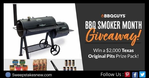 BBQGuys BBQ Smoker Month Giveaway