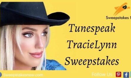 Tunespeak TracieLynn Sweepstakes