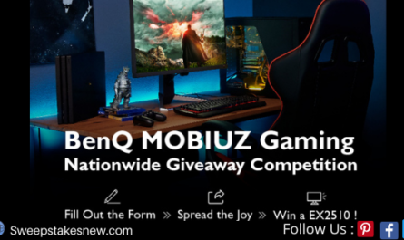 BenQ MOBIUZ Gaming Nationwide Giveaway