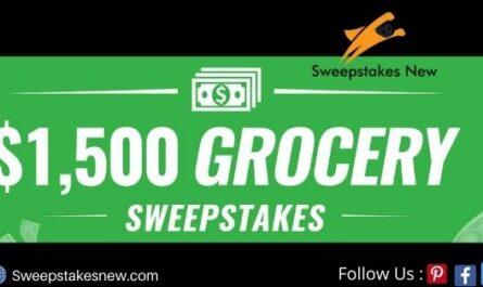 MoneyTalksNews $1500 Grocery Sweepstakes