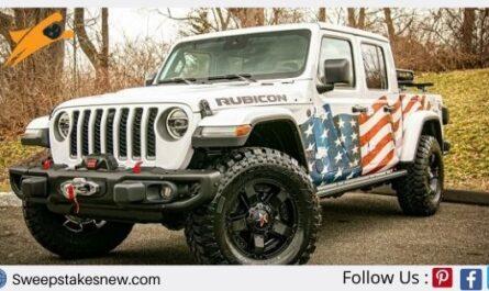 Sierra Delta Jeep Gladiator Giveaway