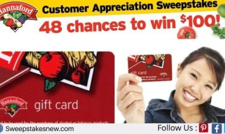 Hannaford Customer Appreciation Sweepstakes