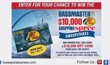 Bass Pro Shops Shopping Spree Sweepstakes
