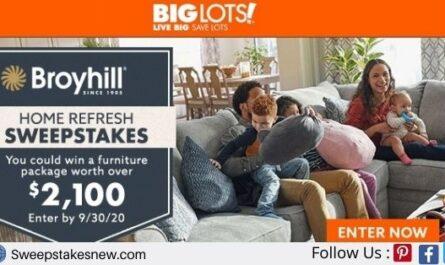 Big Lots Furniture Sweepstakes