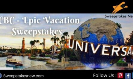 NBC's Epic Vacation Sweepstakes