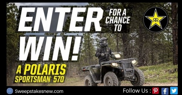 Rockstar Polaris ATV Giveaway