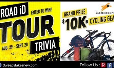 Road Id Tour De France Trivia Contest