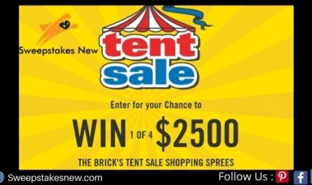 The Brick Shopping Spree Sweepstakes