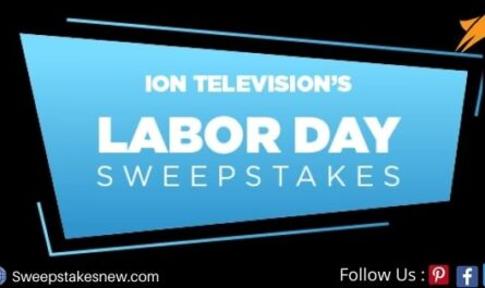ION Television Labor Day Sweepstakes