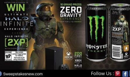 Monster Energy Halo Infinite Sweepstakes