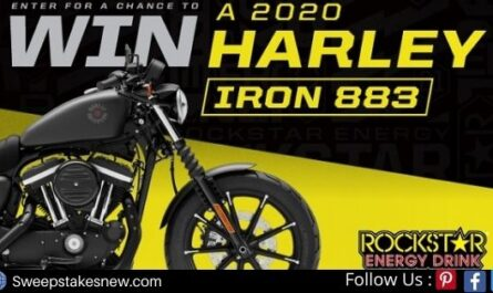 Rockstar Harley Davidson Motorcycle Giveaway