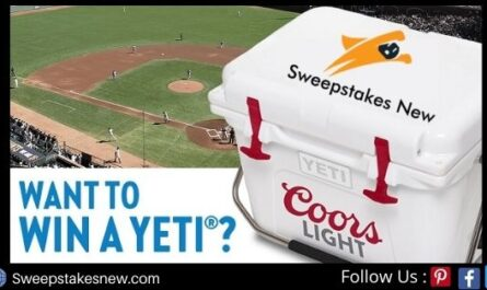 Coors Light Tailgate Sweepstakes