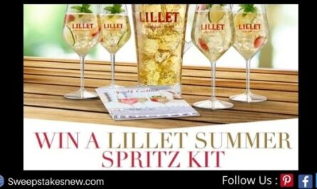 Lillet Summer Spritz Kit Sweepstakes