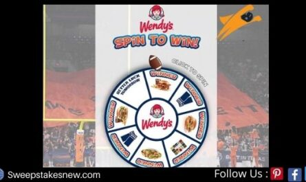 Wendy's Spin to Win Sweepstakes
