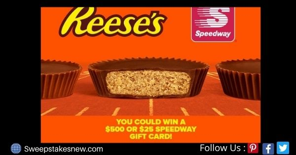 Reese's Speedway Gift Card Giveaway