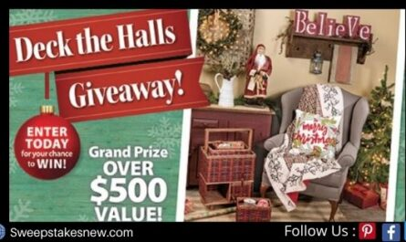Country Sampler Deck The Halls Giveaway