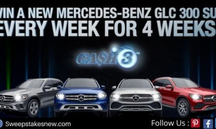 Georgia Lottery Cash 3 Mercedes-Benz Car Giveaway