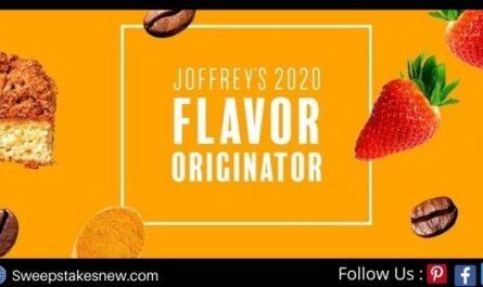 Joffrey Flavor Originator Sweepstakes