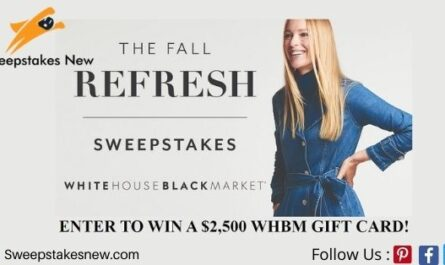 White House Black Market Fall Shopping Spree Sweepstakes