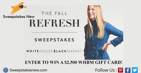 White House Black Market Fall Shopping Spree Sweepstakes