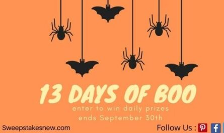 Oriental Trading's 13-days of Boo Giveaway