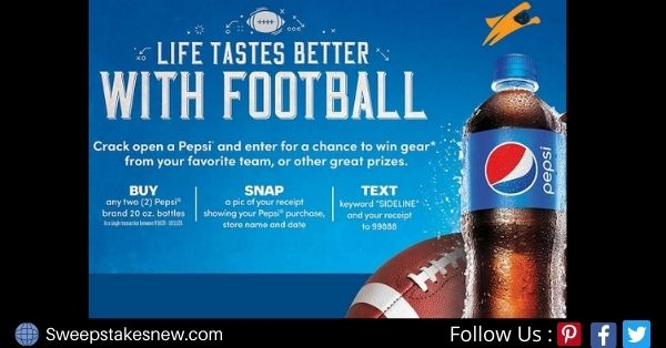 Pepsi Free Gift Cards Giveaway