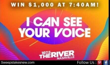 FOX I Can See Your Voice Sweepstakes