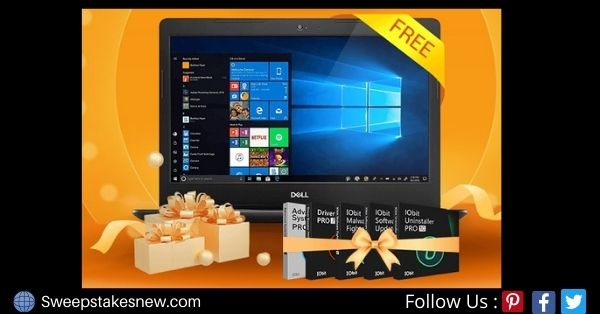 IObit Dell Inspiron 15 3000 Laptops Sweepstakes