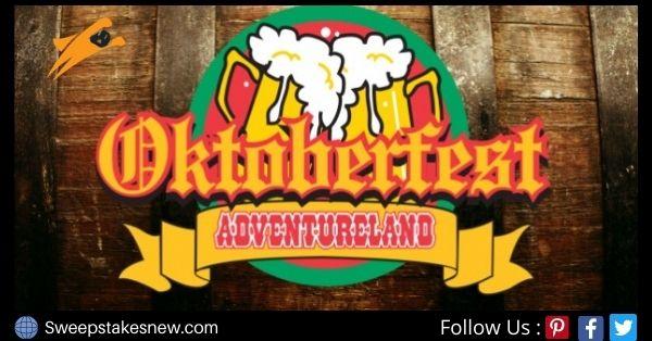 Adventureland Oktoberfest Sweepstakes
