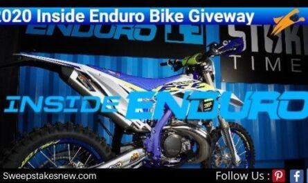 Inside Enduro Bike Giveaway Sweepstakes