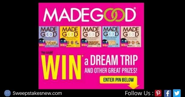 MadeGood Dream Trip Contest
