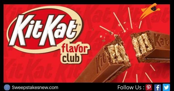 KIT KAT Flavor Club Sweepstakes