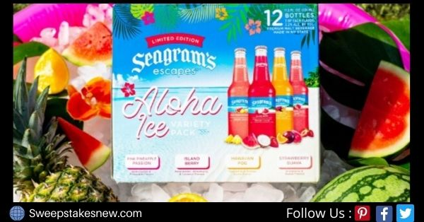 Seagram Bring The Tropics To You Sweepstakes