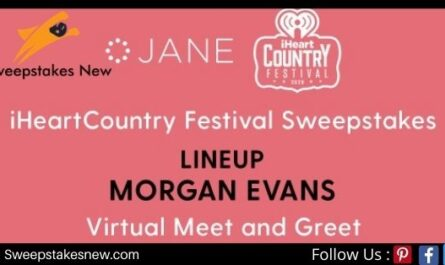 Jane iHeartCountry Festival Sweepstakes
