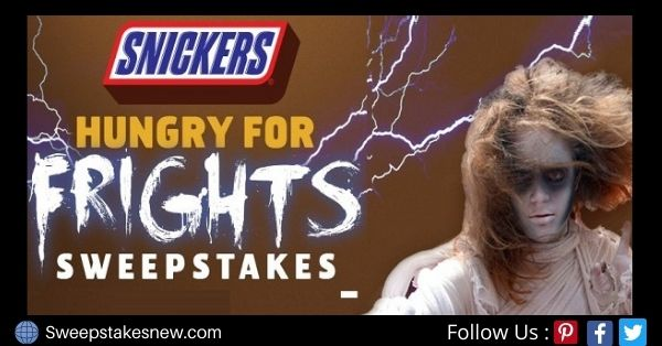 Six Flags Snickers Fright Fest Sweepstakes