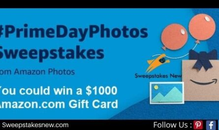 Amazon Prime Day Sweepstakes