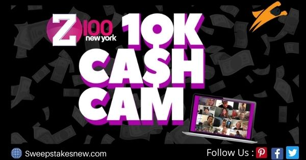 Z100 $10K Cash Cam Contest