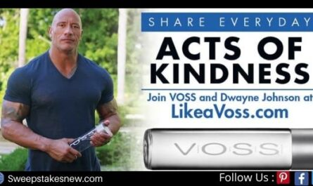 Like A Voss Kindness Sweepstakes