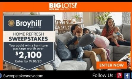 Big Lots Broyhill Home Refresh Sweepstakes