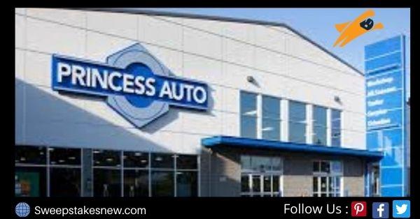 Princess Auto Survey Sweepstakes